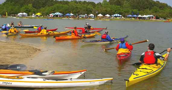 East Coast Canoe & Kayak Festival, Charleston, South Carolina