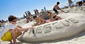 Sand Art Festival, SCAD, Savannah Georgia