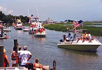 4th of july boat parade murrells inlet south carolina for Hot fish club murrells inlet south carolina