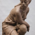 LUNA by Richard Blake, Clay for Bronze