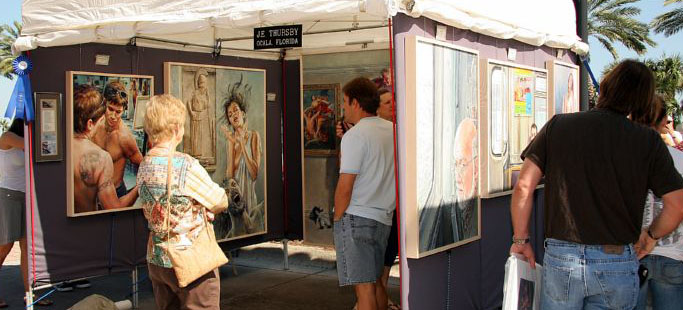 Halifax Art Festival Daytona Florida